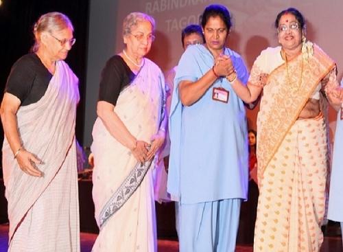 1.Smt. Suvra Mukherjee1, Smt. Gursharan Kaur, Smt. Shiela Dixit
